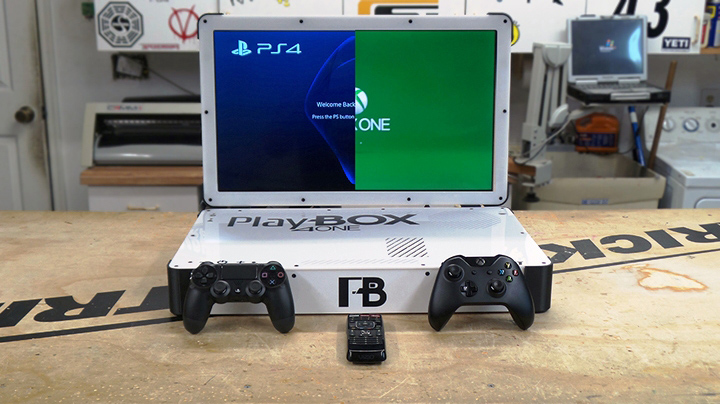 Playbox 4 One Xbox One PS4 Laptop