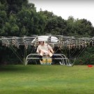 Super-Drone Flying Machine With 54 Propellers