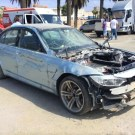 Damaged BMW M3's in Mission Impossible 5