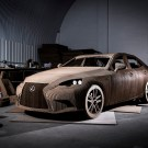 Lexus Created Full-Scale Car Made Out of Cardboard