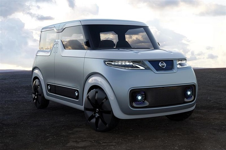 Nissan's Concept Electric Car