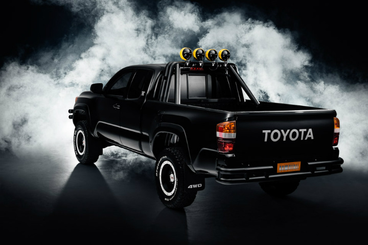 Toyota Tacoma Back To The Future 4