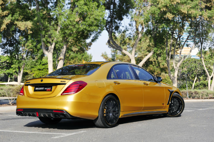 Mercedes-Benz Brabus Rocket 900 Desert Gold Edition 2