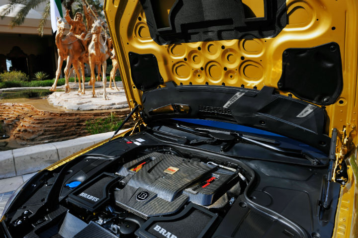 Mercedes-Benz Brabus Rocket 900 Desert Gold Edition 4