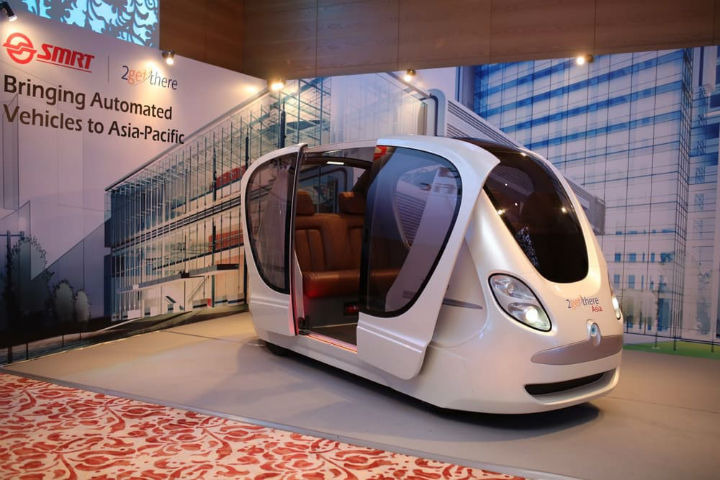 Electric Driverless Pods