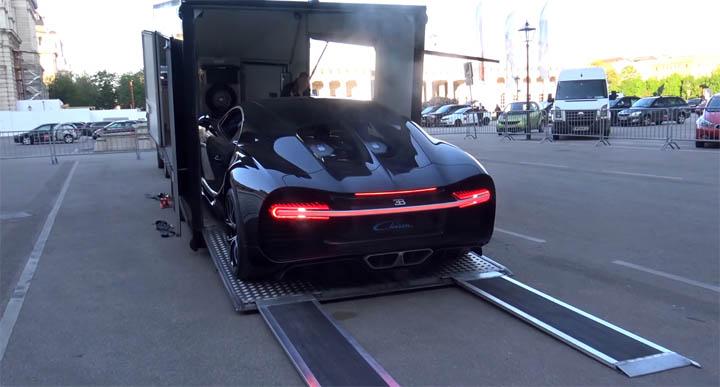Bugatti Chiron in Vienna