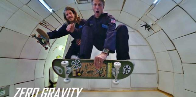 Skateboarding in Zero Gravityault