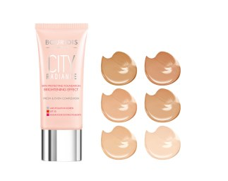 Bourjois - City Radiance - Foundation shades 1 -AED79 - SAR81