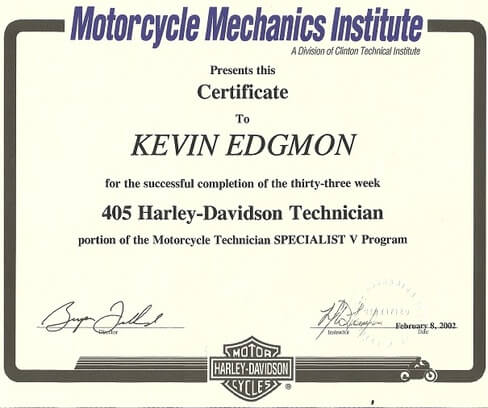 How To Become A Motorcycle Mechanic