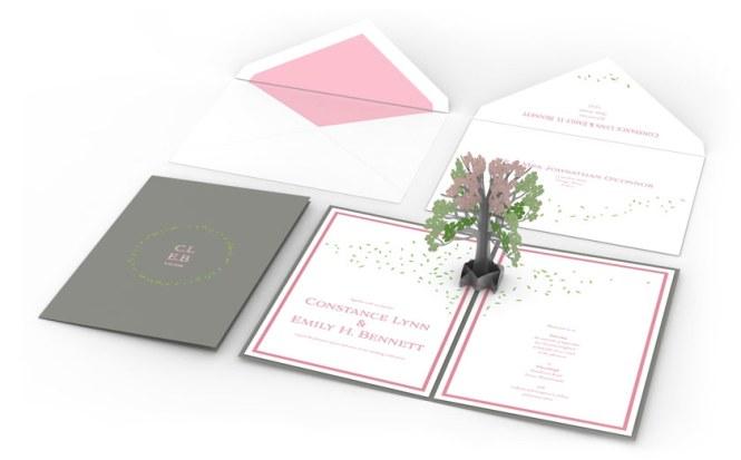 Pop Up Wedding Invitations By Lovepop