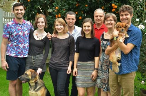 Photo de famille (-1 chien, Izzy)