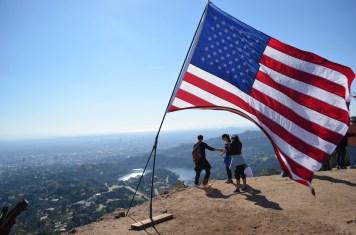Au sommet du Mont Lee