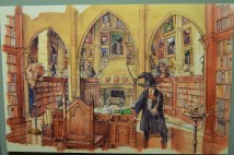 Le monde de Harry Potter d'abord dessiné avant d'être porté à l'écran