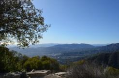 Voici le panorama qu'offrait Echo Mountain House