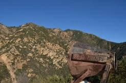 Un parlophone pour voir si Echo Mountain porte bien son nom