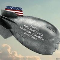 Q SCOOP - Les tensions montent alors que le monde s'éveille au théatre des éléctions Américaines.