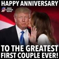 Q INFOS - Anniversaire de mariage de D. Trump et Melania Trump.