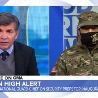 Q SCOOP - Entretien avec le chef de la Garde nationale de W-D.C. sur la situation