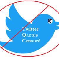 Q SCOOP - Twitter suspend le compte de Qactus ce soir.