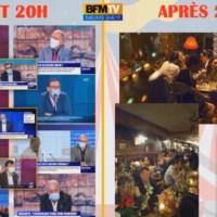 Q SCOOP - Des journalistes de BFM et médecins de l'AP-HP verbalisés dans un restau clandestin !