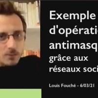 """Q VIDÉOS - Québec : """"Exemple d'opération antimasque"""". par le Dr Louis Fouché."""