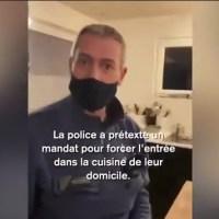Q SCOOP - Belgique : Waterloo violences policières, une perquisition au domicile dégénère.