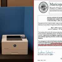 Q SCOOP - Une bombe dans le comté de Maricopa : Mots de passe et routeurs manquants dans l'audit de l'Arizona. Session d'urgence du Sénat