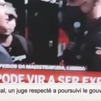 Au Portugal, un juge respecté a poursuivi le gouvernement du pays pour crimes contre l'humanité..
