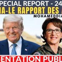 Arizona/RSBN : Mohamed Diallo nous traduit en direct la présentation publique des rapports de l'audit du 24 sept 2021.