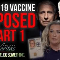 """Project Veritas : Partie 1, un dénonciateur de HHS rend public - """"Le vaccin est plein de merde!"""""""
