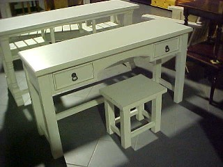 Country Dressing Table & Stool