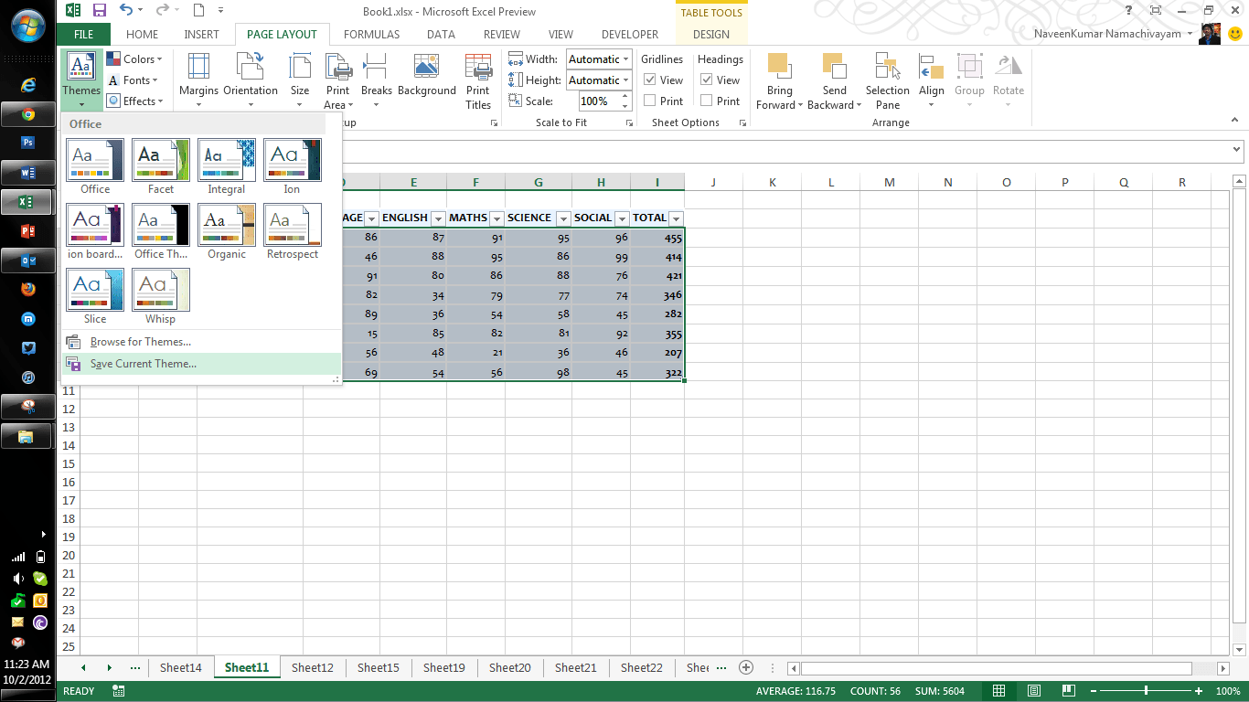 Microsoft Excel Features Part Two