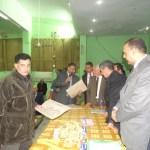 تقرير زيارة الدكتور وكيل الوزارة ليوم السبت الموافق 4/1/2014