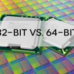 كيف اختار بين النسخة 32 او 64 بت؟