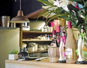 Q and T Vietnamese Restaurant Interior