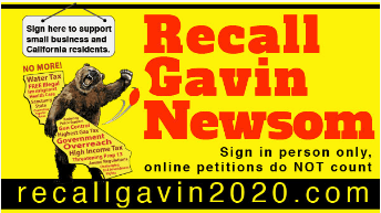 Recall Gavin Newsom 2020 Make California Great Again