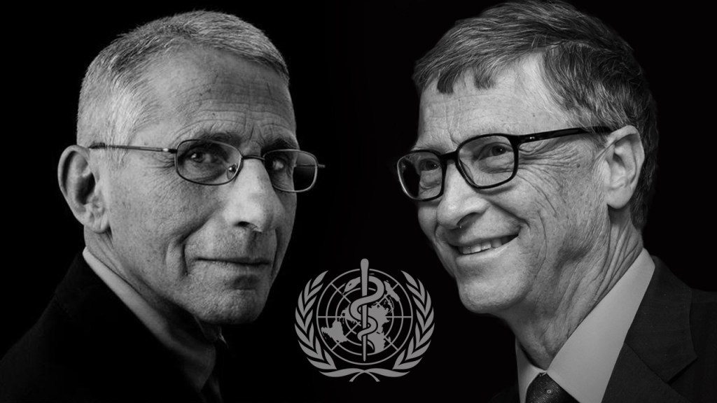 Public Enemies Number 1 - Bill Gates and Anthony Fauci