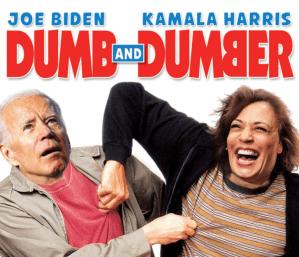 Dumb and Dumber Biden and Harris - QAnon.fun