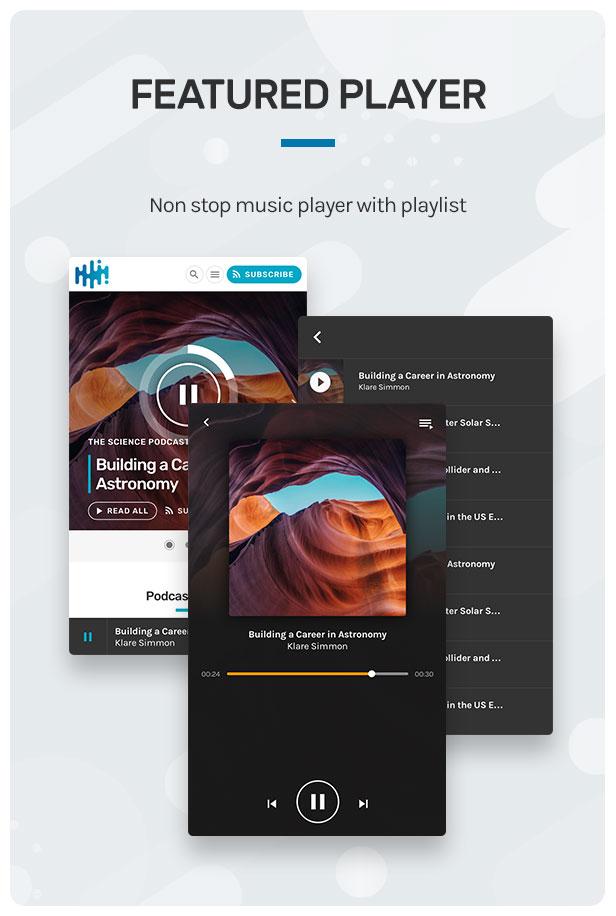 Wpcast-podcast audio WordPress Theme-4