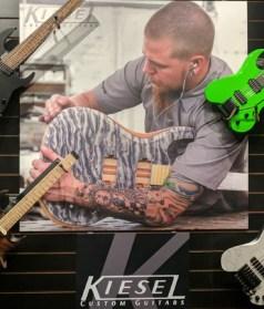Kiesel Guitar Custom Finishing