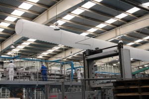 DTI Fabric Duct - Mfg Area