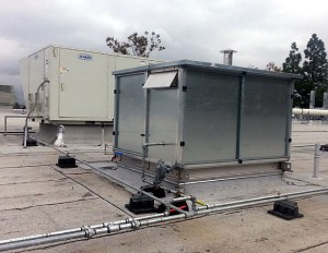 Gas-to-Steam Roof Mounted Enclosure
