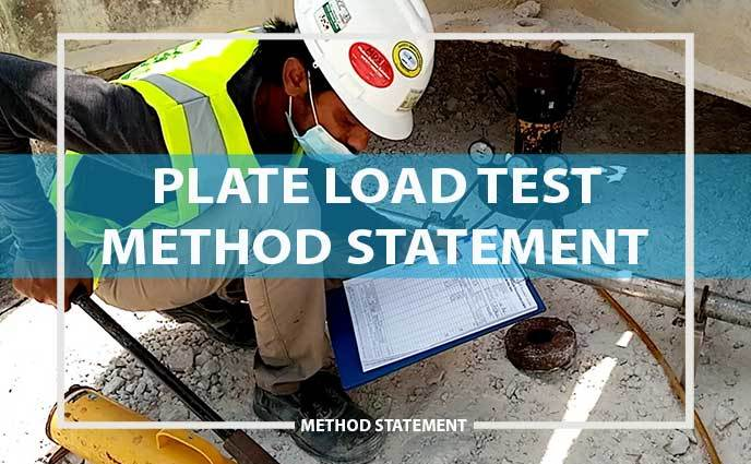 plate load test method statement
