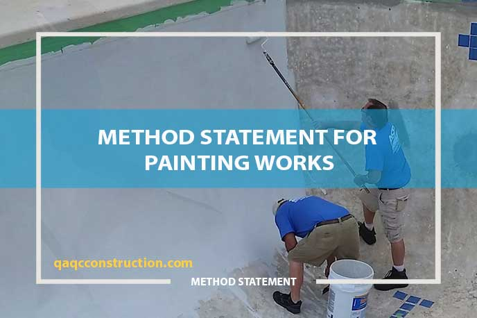 method statement for painting works