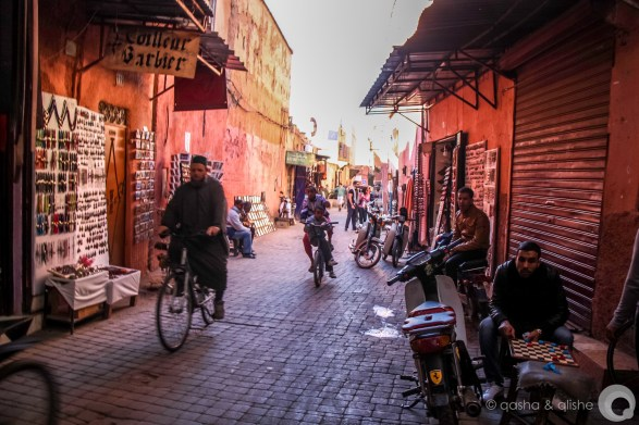 medina alley