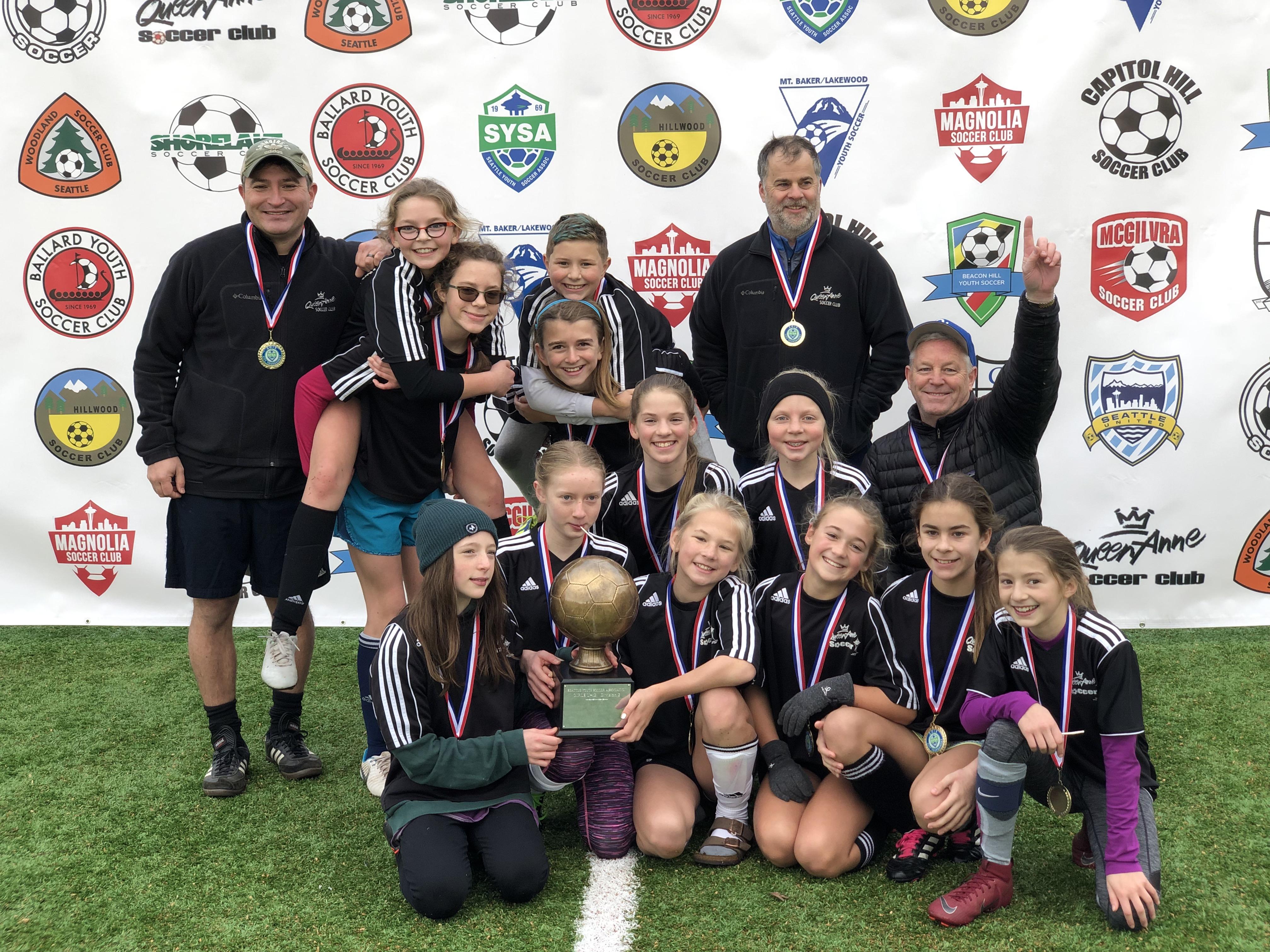 Queen Anne Soccer Kangaros