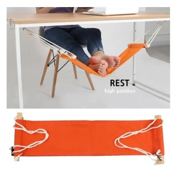 Desk Feet Hammock Foot Chair Care Tool The Foot Hammock Outdoor Rest Cot Portable Office Foot