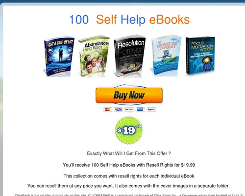 E 100 Self Help eBooks