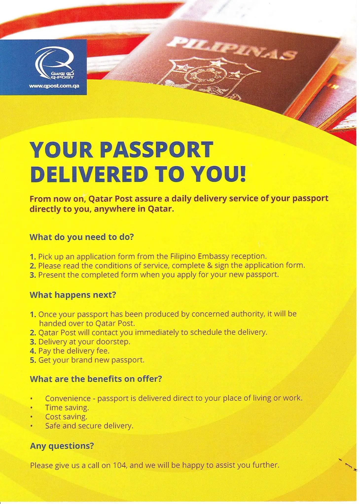 How to Renew your Philippine Passport in Qatar | Qatar OFW
