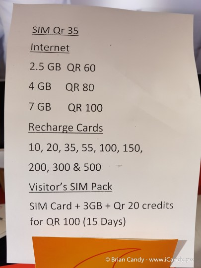 Vodafone HIA Visitors SIM Pack